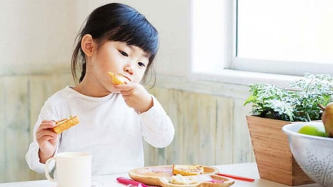 Trẻ em Nhật Bản được khuyến khích lựa chọn và khám phá những món ăn mới
