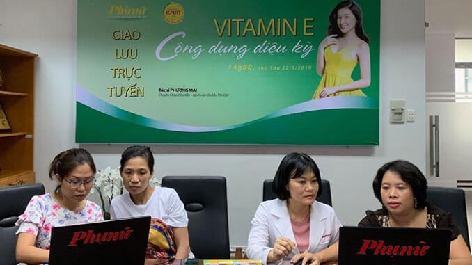 Tác dụng của Vitamin E dưới góc nhìn của chuyên gia