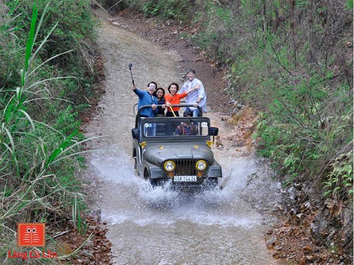 Tour xe jeep làng Cù Lần Đà Lạt